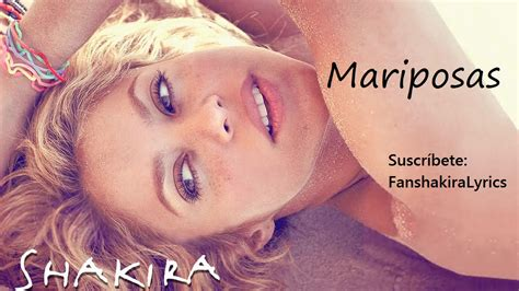 07 Shakira   Mariposas [Lyrics]   YouTube