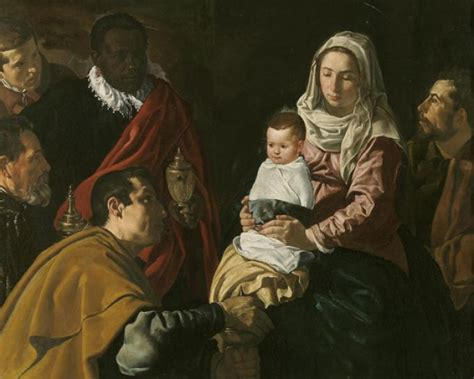 10 cuadros de Velázquez   Adoración de los Magos