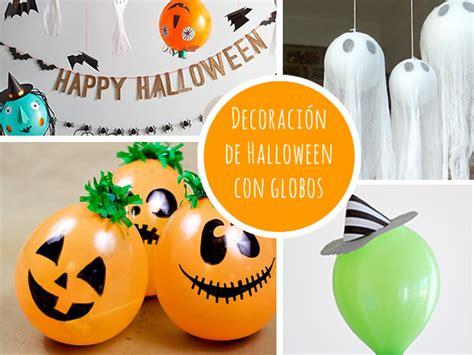 10 decoraciones para Halloween que puedes hacer con globos ...