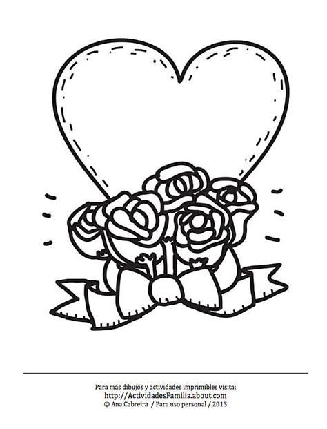10 Dibujos de corazones para colorear