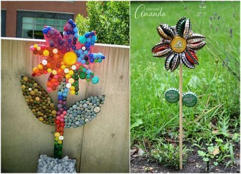 10 Flores criativas feitas de materiais reciclados que ...