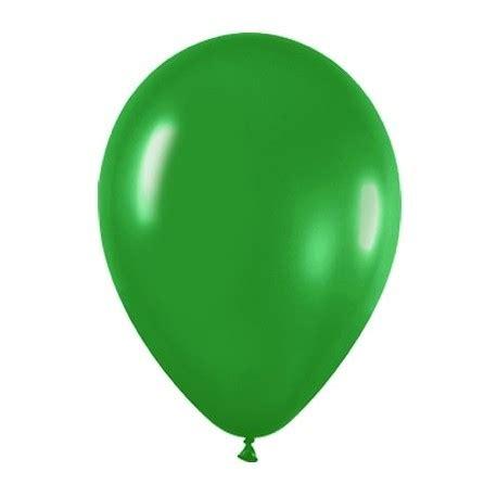 10 globos de color verde selva | Tienda de globos online