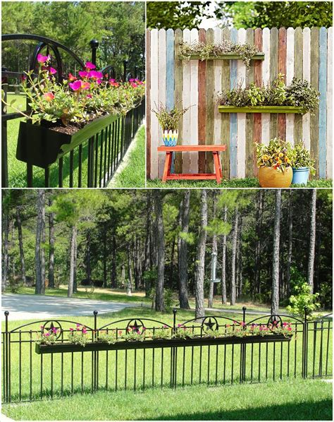 10 ideas para decorar la valla de tu jardín
