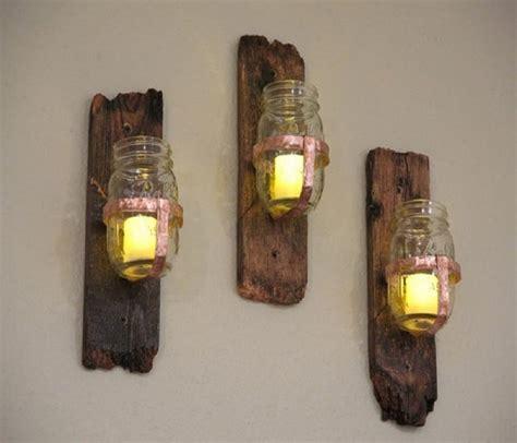 10 manualidades de madera reciclada para el hogar