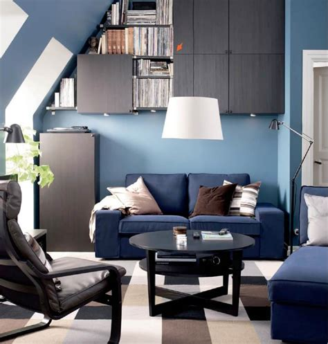 10 New and Fresh IKEA Living Room Interior Design Ideas ...