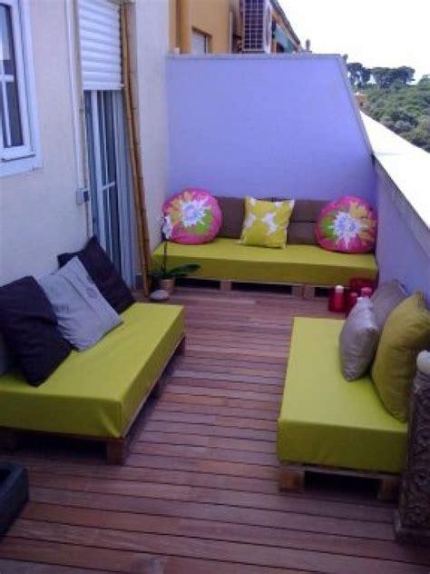10 terrazas amuebladas con palets | Bricolaje