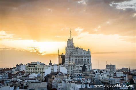 10 terrazas de Madrid con vistas alucinantes  Verano 2017