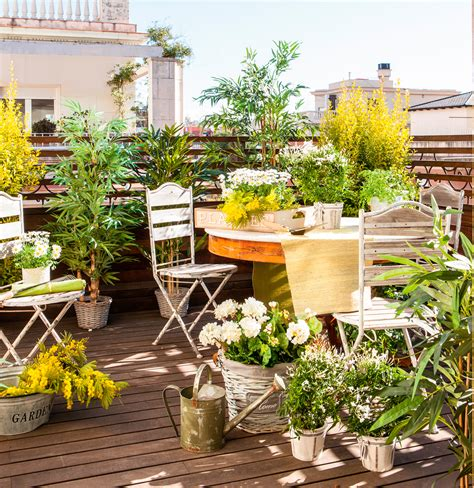 10 terrazas pequeñas pero bien aprovechadas