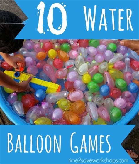 10 Water Balloon Games  For Kids, Teens and Youth Groups ...