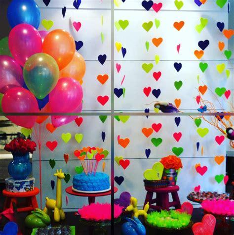 101 fiestas: Fiesta de adolescentes: neon party