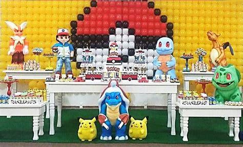 101 fiestas: Fiesta temática de Pokemon