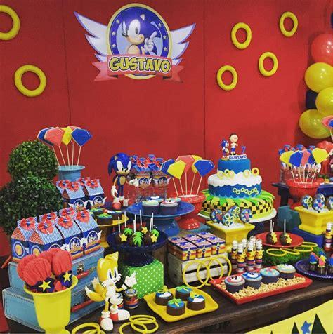 101 fiestas: Fiesta temática de Sonic