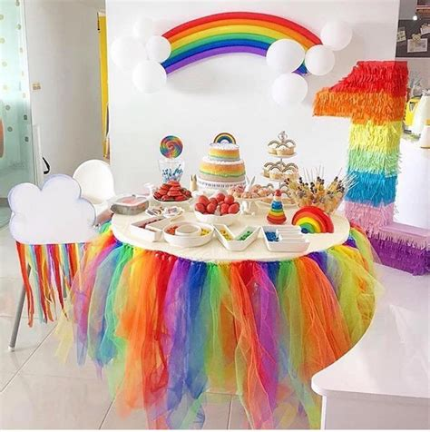 101 fiestas: Ideas para fiestas temáticas de arcoiris