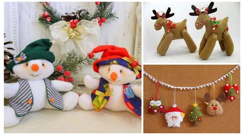 11 Moldes para hacer muñecos y adornos navideños en ...