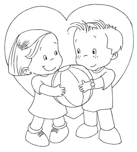 14 de febrero: Día de San Valentín   Dibujos para colorear ...