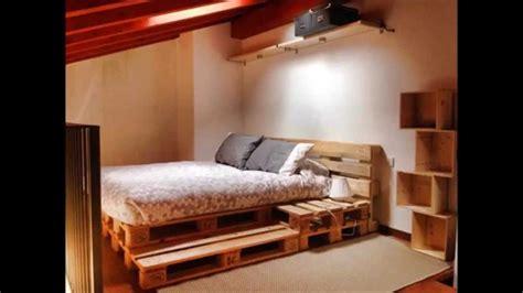 15 camas hechas con palets   YouTube