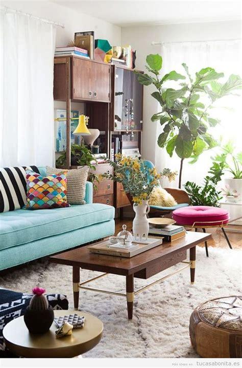 15 ideas para decorar el salón de casa con estilo vintage ...