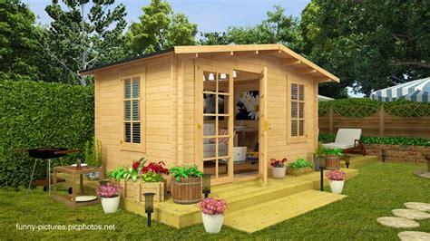 16 modelos de casitas de madera para el jardín ...
