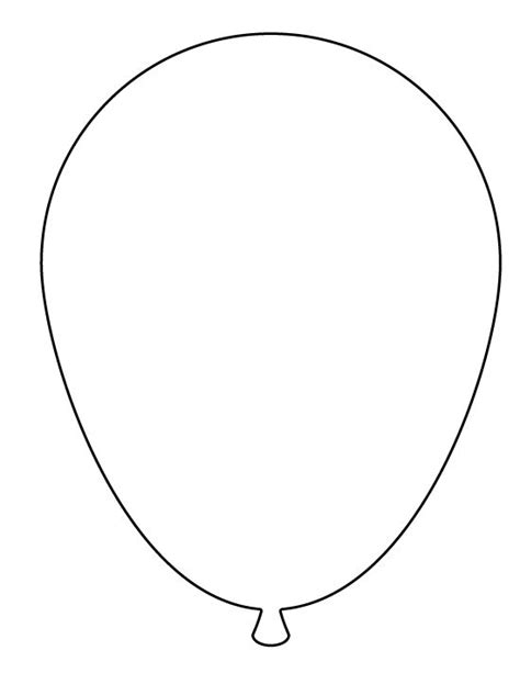 17 Best images about Printable Balloon Template ...
