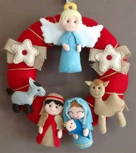 17 mejores ideas sobre Decoraciones Navideñas De Fieltro ...