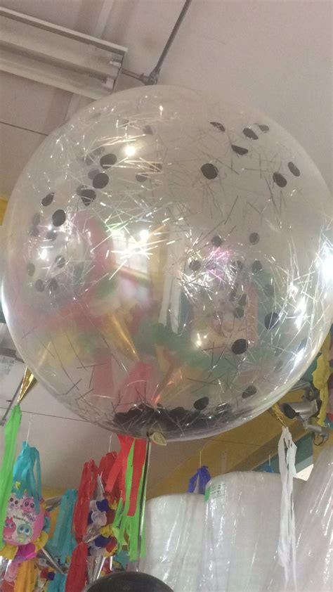 18 Globos Gigantes Transparentes O De Colores   $ 550.00 ...