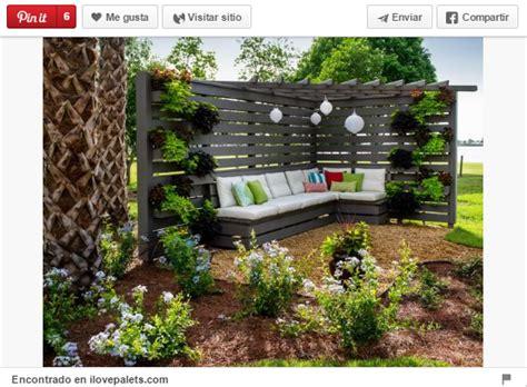 18 Ideas para decorar espacios exteriores con palets ...