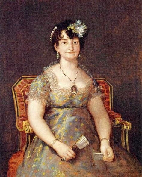 1807 Marquesa de Caballero by Francisco José de Goya y ...