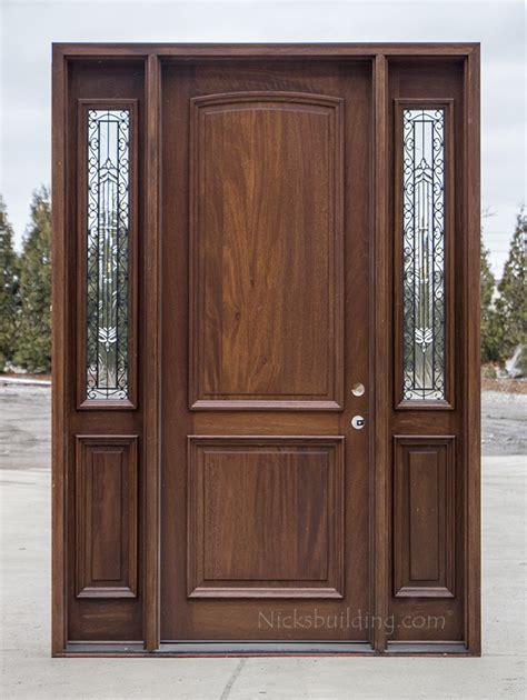 2 Panel Exterior Wood Doors CL 2121C