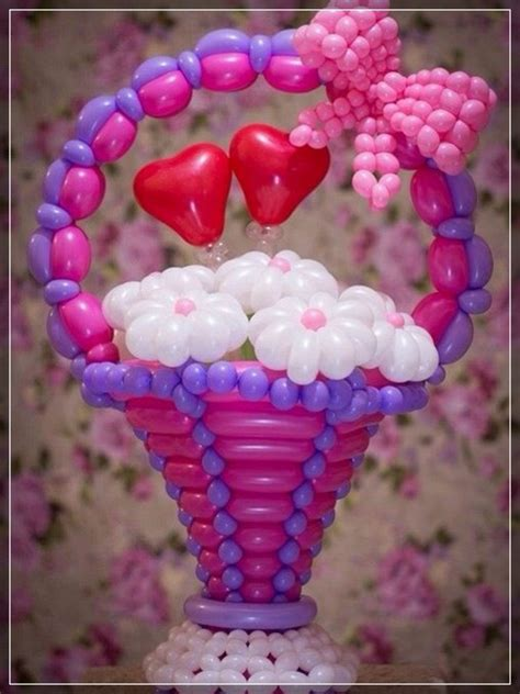 20 decoraciones de flores con globos SUPER CREATIVAS!!!