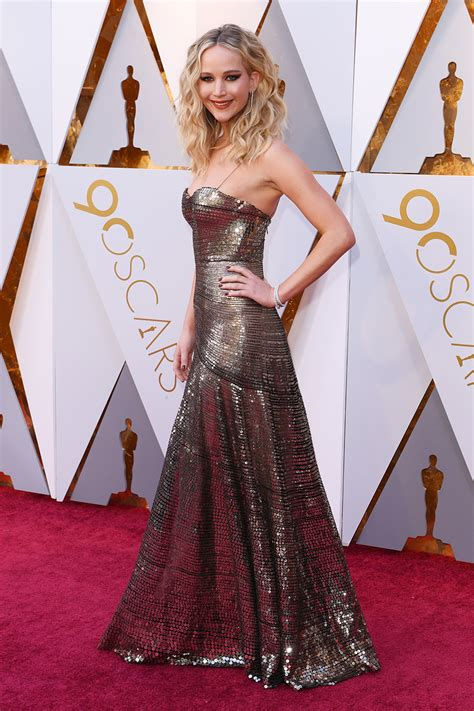 2018 Academy Awards Red Carpet Photos — Jennifer Lawrence ...