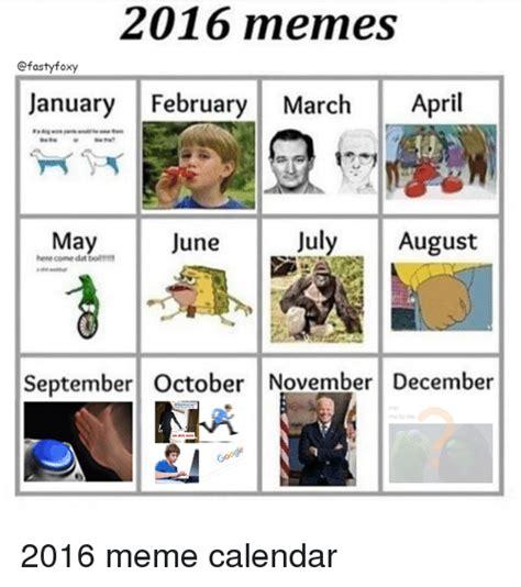 25+ Best Memes About 2016 Meme Calendar | 2016 Meme ...