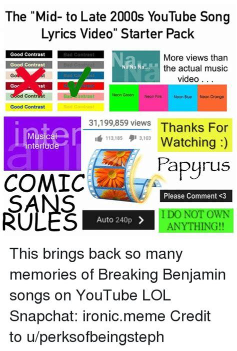 25+ Best Memes About Songs | Songs Memes