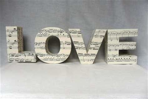 25 Ideas muy chic para decorar con la palabra LOVE.   Mil ...
