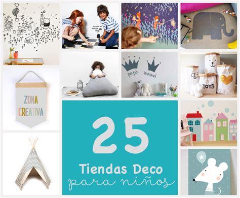 25 tiendas online de decoración para niños