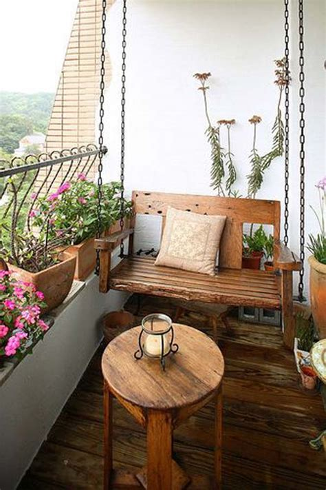 26 Tiny Furniture Ideas for Your Small Balcony   Amazing ...