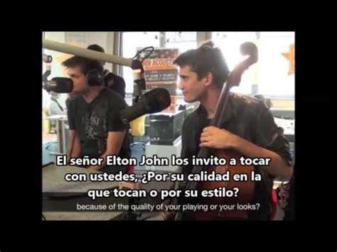 2CELLOS momentos divertidos 1 en español   YouTube