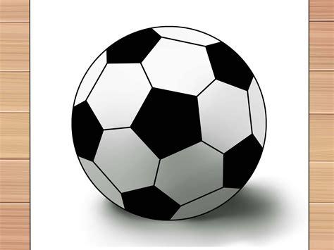 3 formas de dibujar una pelota de futbol   wikiHow
