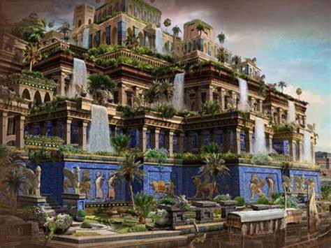 3. maravilla del mundoLOS JARDINES COLGANTES DE BABILONIA ...