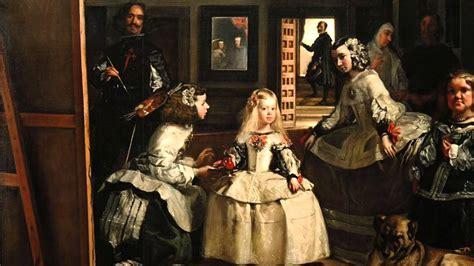30. Diego Velázquez, Las Meninas  Die königliche Familie ...