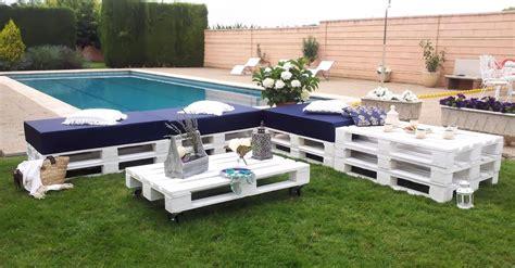 30 Diseños de muebles de palets para tu jardín   Ideas ...
