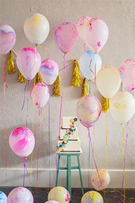 30+ ideas de decoración con globos para cumpleaños 【TOP 2018】