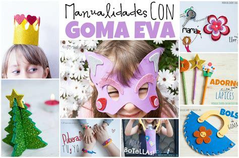 30 manualidades para niños faciles con goma eva | Ideas ...