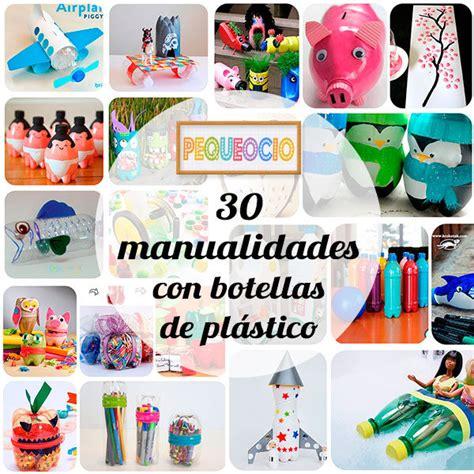 30 manualidades recicladas con botellas   Pequeocio