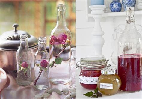 31 propuestas para decorar con botellas y tarros de ...