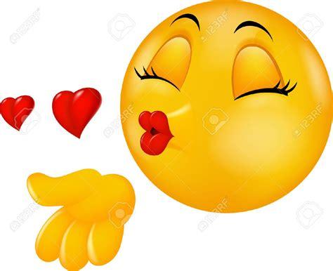 33886410 Cartoon besando redonda cara emoticon haciendo ...