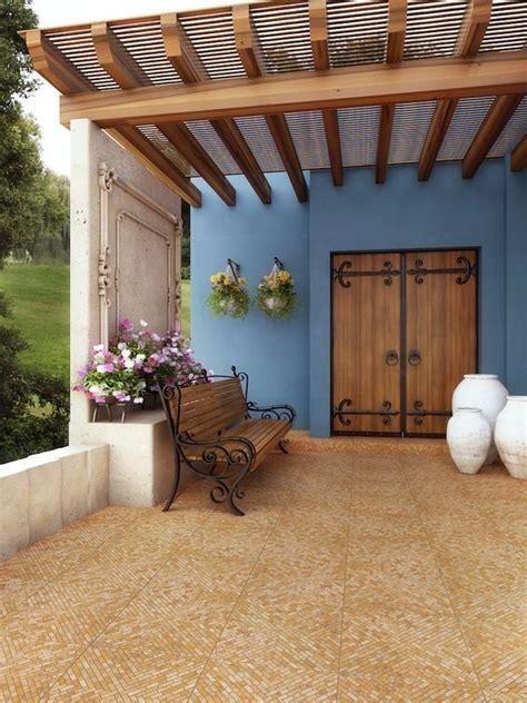 35 Diseños de pisos para terrazas | Jardinería,patios,zona ...