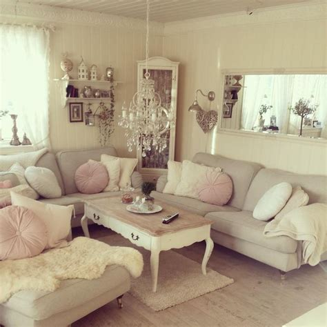 37 Enchanted Shabby Chic Living Room Designs | DigsDigs