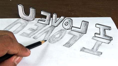 3D Drawing Love   Drawing Of Sketch