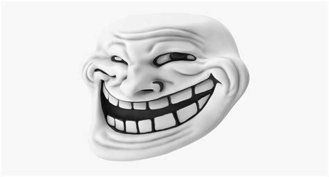 3d trollface model