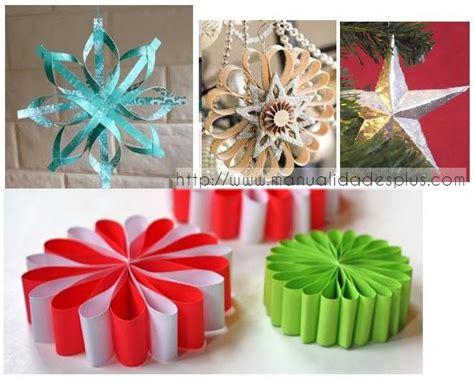 4 Estrellas de Navidad Manualidades con Papel